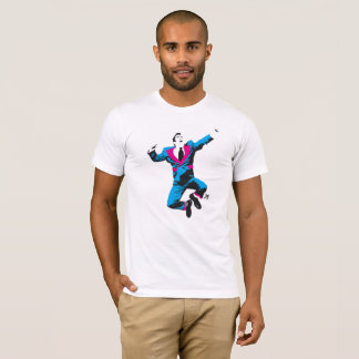 Homme d'affaires peu probable t-shirt