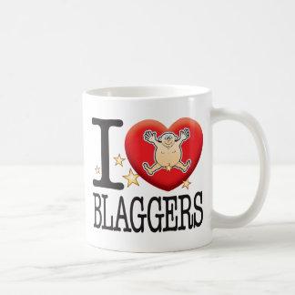 Homme d'amour de Blaggers Mug Blanc