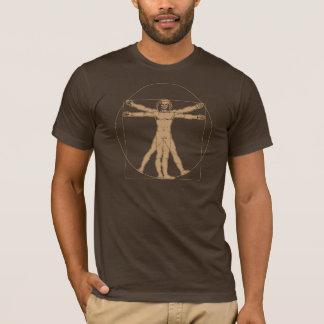 Homme de da Vinci Vitruvian T-shirt