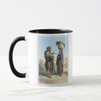 Homme de Fellah et femme, illustration 'de Valle Mug