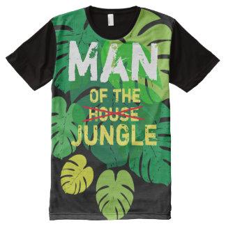 Homme de la Chambre T-shirt Tout Imprimé