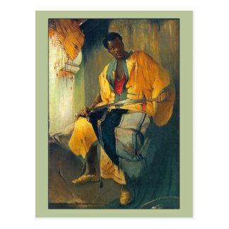 Homme de Nubian par Franciszek Zmurko Carte Postale