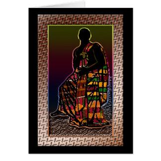 Homme de prière africain cartes