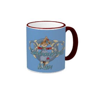 Homme de tambour de basque mug ringer
