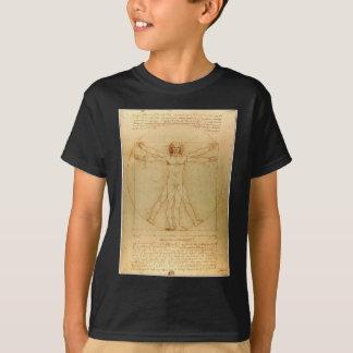 Homme de Vitruvian de da Vinci T-shirt