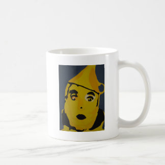 Homme d'or de bidon mug