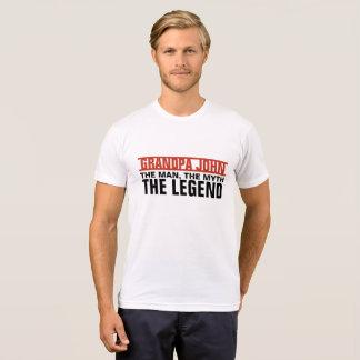 Homme fait sur commande, le mythe, la légende t-shirt