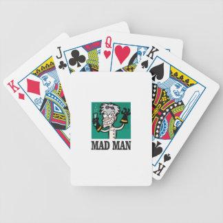 homme fol maigre jeu de cartes