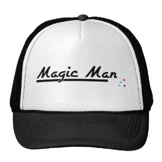 Homme magique casquette de camionneur