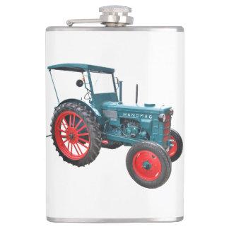 Homme plat de tracteur flasques