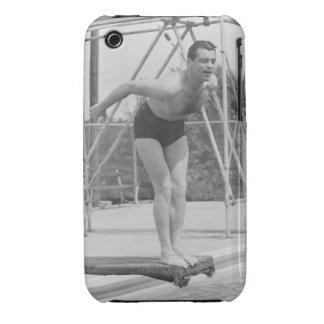 Homme sur le conseil de plongée coque Case-Mate iPhone 3