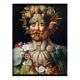 Homme végétal de Giuseppe Arcimboldo (Vertumnus) Cartes Postales