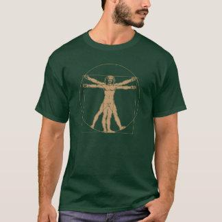 homme vitruvian - Léonard de Vinci T-shirt