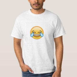 Hommes adultes de chemise impressionnante d'Emoji T-shirt