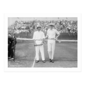 Hommes au tournoi de tennis au Washington DC Carte Postale
