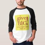 Hommes bas de pièce en t de boule t-shirt