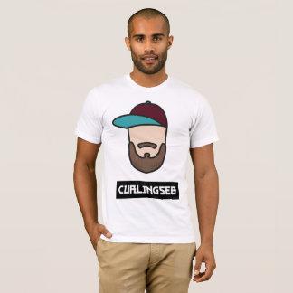 Hommes blancs de T-shirt de Curlingseb