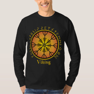 Hommes d'Aegishjalmur Longsleeve L par Nellis T-shirt