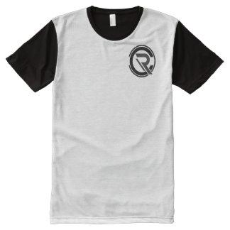 Hommes de centre de détection et de contrôle t-shirt tout imprimé