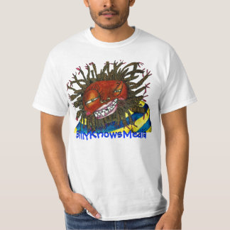 Hommes de T-shirt de BillyKnowsMedia QRCode