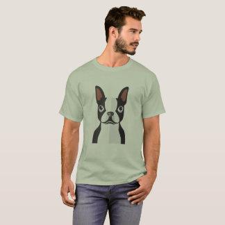 Hommes de T-shirt de Boston Terrier