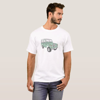 Hommes de T-shirt de série de Land Rover