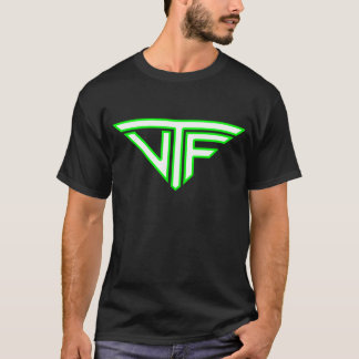 Hommes de VTF (logo vert électrique de frontière) T-shirt