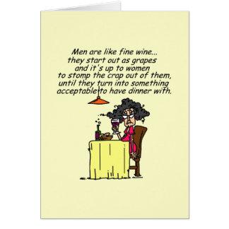 Humour vin cartes invitations photocartes et faire part for Carte de voeux humour