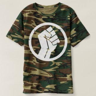 Hommes souterrains Camo de T-shirt de Salsa