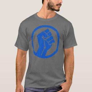 Hommes souterrains de T-shirt de Salsa gris