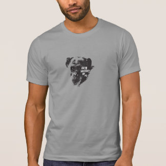 Hommes/T-shirt unisexe avec l'image de chimpanzé T-shirt