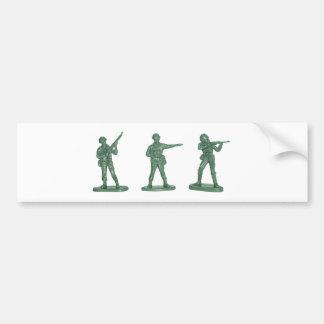 Hommes verts d armée adhésifs pour voiture