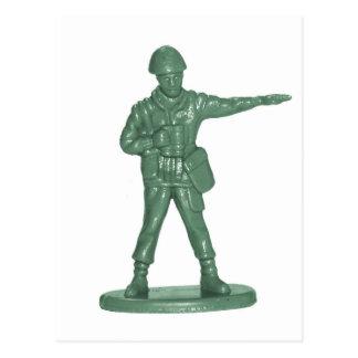 Hommes verts d armée cartes postales