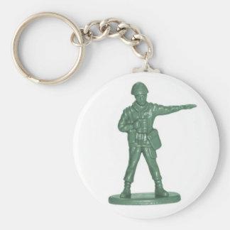 Hommes verts d armée porte-clés