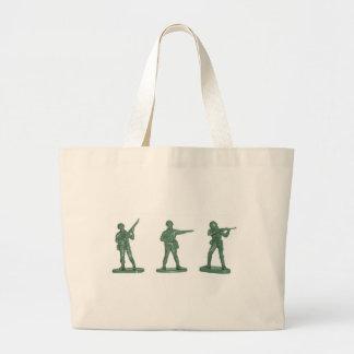 Hommes verts d armée sac en toile