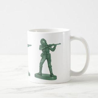 Hommes verts d armée tasse