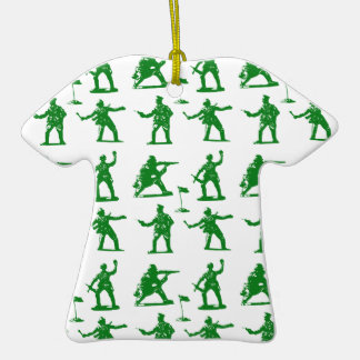 Hommes verts d'armée décorations pour sapins de noël
