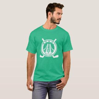 Hommes verts de T-shirt de Division