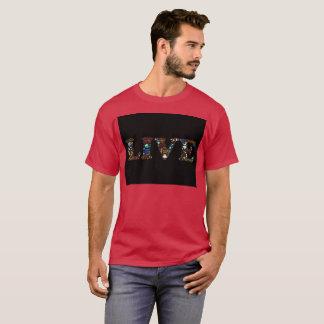 Hommes vivants de T-shirt de Boho