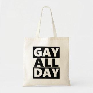 Homosexuel toute la journée sac en toile