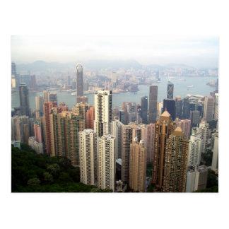 Hong Kong de la crête Cartes Postales