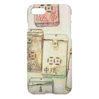 Hong Kong rétro : Cas de téléphone de boîtes aux Coque iPhone 8/7