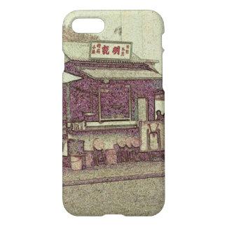 Hong Kong rétro : Cas en plein air de téléphone de Coque iPhone 8/7