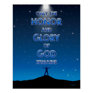 Honneur et gloire - 20x16 poster
