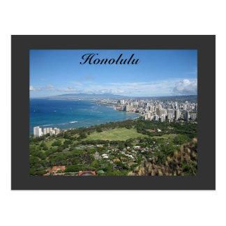 Honolulu Carte Postale
