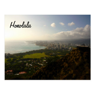 Honolulu de Le'ahi Carte Postale