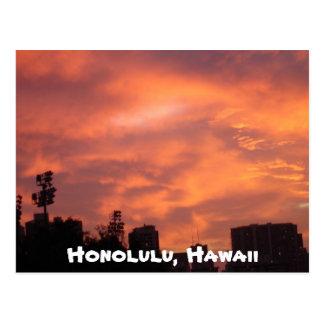 Honolulu, Hawaï Carte Postale