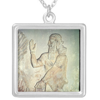 Honorable, soulagement, assyrien collier