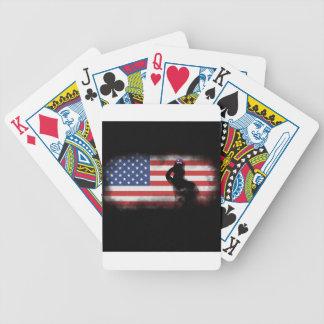 Honorez nos héros le Jour du Souvenir Cartes À Jouer