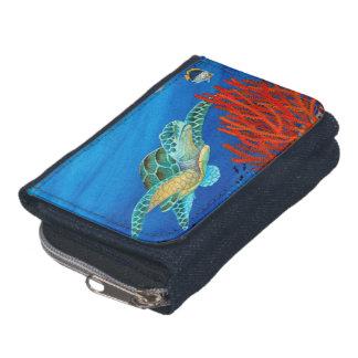 Honu (tortue de mer verte) et corail noir